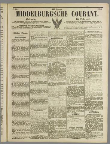 Middelburgsche Courant 1906-02-10