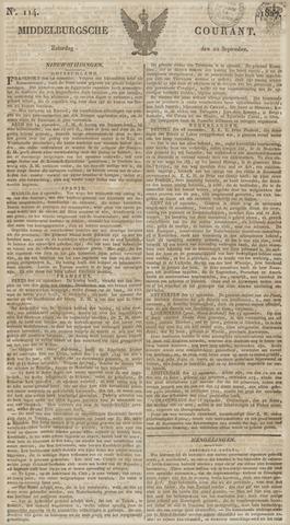 Middelburgsche Courant 1827-09-22