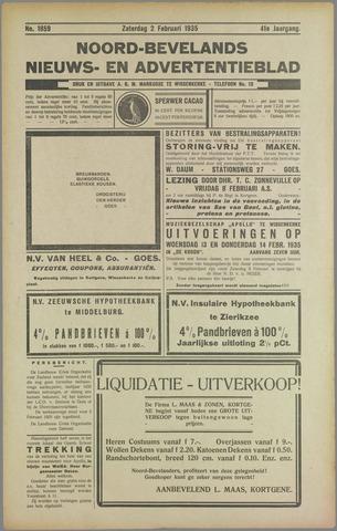 Noord-Bevelands Nieuws- en advertentieblad 1935-02-02