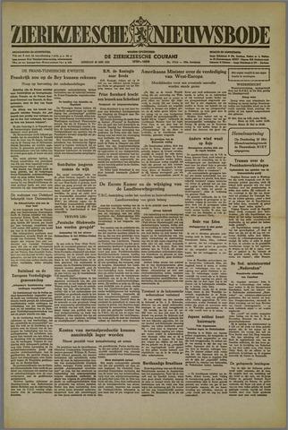 Zierikzeesche Nieuwsbode 1952-05-20