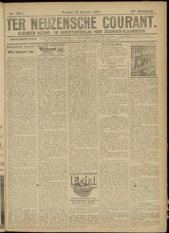 Ter Neuzensche Courant. Algemeen Nieuws- en Advertentieblad voor Zeeuwsch-Vlaanderen / Neuzensche Courant ... (idem) / (Algemeen) nieuws en advertentieblad voor Zeeuwsch-Vlaanderen 1926-01-22