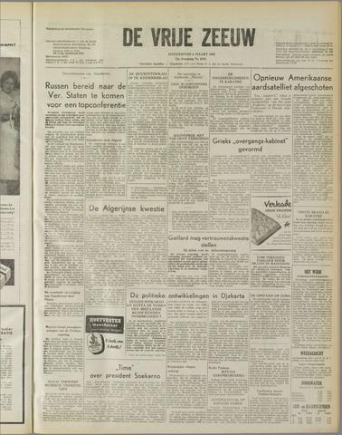 de Vrije Zeeuw 1958-03-06