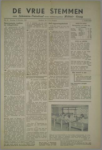 Vrije Stemmen van Schouwen-Duiveland, tevens mededeelingenblad Militair Gezag 1945-12-15