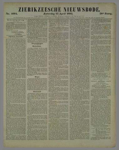 Zierikzeesche Nieuwsbode 1882-04-15