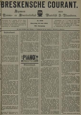 Breskensche Courant 1914-07-18