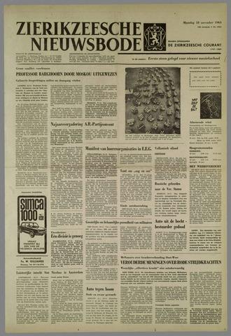 Zierikzeesche Nieuwsbode 1963-11-18