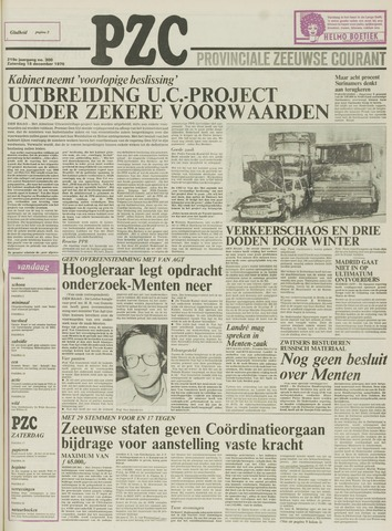 Provinciale Zeeuwse Courant 1976-12-18
