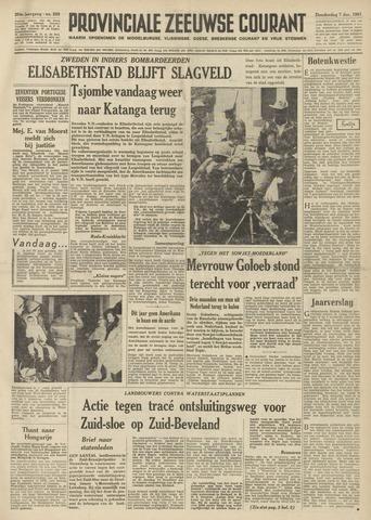 Provinciale Zeeuwse Courant 1961-12-07