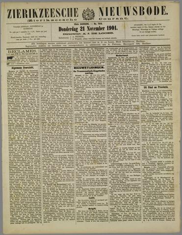 Zierikzeesche Nieuwsbode 1901-11-21