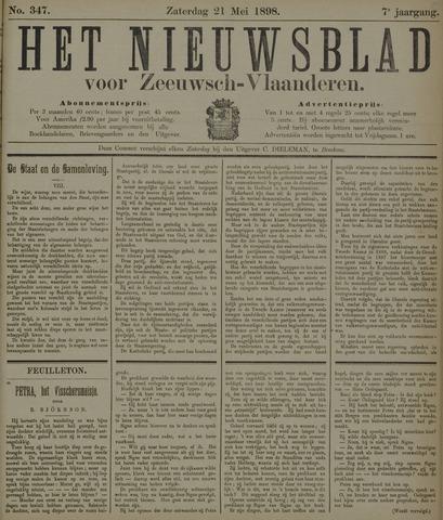 Nieuwsblad voor Zeeuwsch-Vlaanderen 1898-05-21