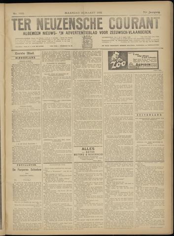 Ter Neuzensche Courant. Algemeen Nieuws- en Advertentieblad voor Zeeuwsch-Vlaanderen / Neuzensche Courant ... (idem) / (Algemeen) nieuws en advertentieblad voor Zeeuwsch-Vlaanderen 1931-03-16