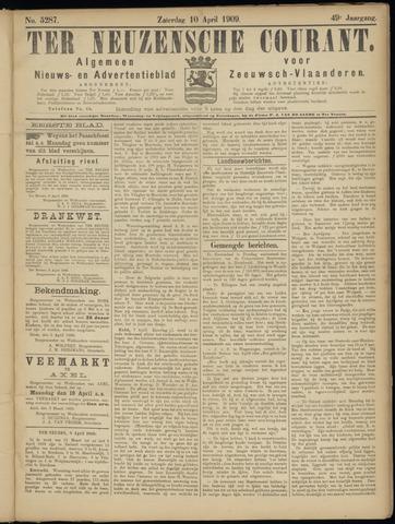 Ter Neuzensche Courant. Algemeen Nieuws- en Advertentieblad voor Zeeuwsch-Vlaanderen / Neuzensche Courant ... (idem) / (Algemeen) nieuws en advertentieblad voor Zeeuwsch-Vlaanderen 1909-04-10