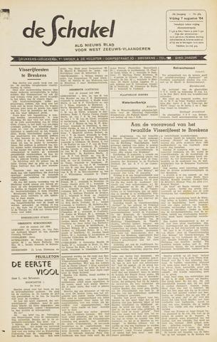 De Schakel 1964-08-07