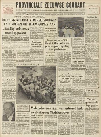 Provinciale Zeeuwse Courant 1962-07-25