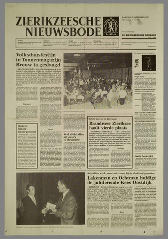 Zierikzeesche Nieuwsbode 1987-09-07