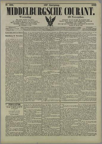 Middelburgsche Courant 1893-11-29