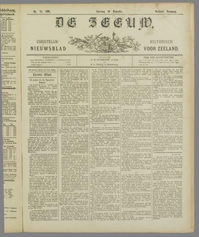 De Zeeuw. Christelijk-historisch nieuwsblad voor Zeeland 1898-11-26