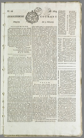 Zierikzeesche Courant 1824-02-03