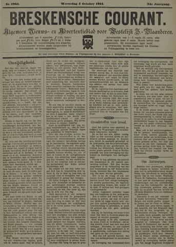 Breskensche Courant 1914-10-07