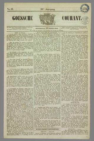 Goessche Courant 1856-02-28