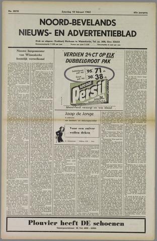 Noord-Bevelands Nieuws- en advertentieblad 1962-02-10