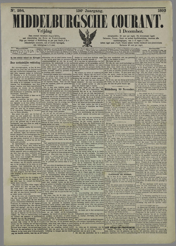 Middelburgsche Courant 1893-12-01