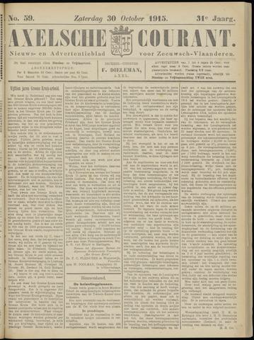 Axelsche Courant 1915-10-30