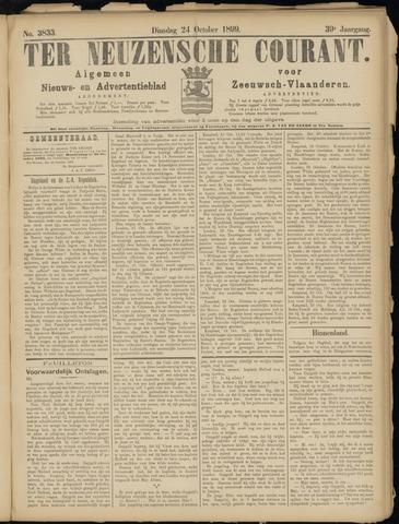 Ter Neuzensche Courant. Algemeen Nieuws- en Advertentieblad voor Zeeuwsch-Vlaanderen / Neuzensche Courant ... (idem) / (Algemeen) nieuws en advertentieblad voor Zeeuwsch-Vlaanderen 1899-10-24