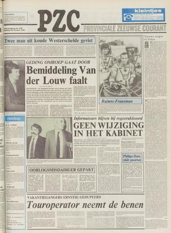 Provinciale Zeeuwse Courant 1981-10-20