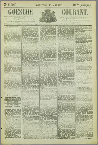 Goessche Courant 1915-01-14