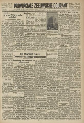 Provinciale Zeeuwse Courant 1946-07-05