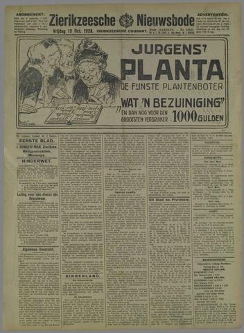 Zierikzeesche Nieuwsbode 1923-10-12