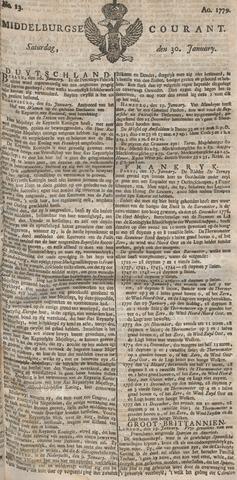 Middelburgsche Courant 1779-01-30
