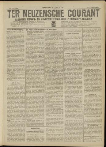 Ter Neuzensche Courant. Algemeen Nieuws- en Advertentieblad voor Zeeuwsch-Vlaanderen / Neuzensche Courant ... (idem) / (Algemeen) nieuws en advertentieblad voor Zeeuwsch-Vlaanderen 1942-07-06