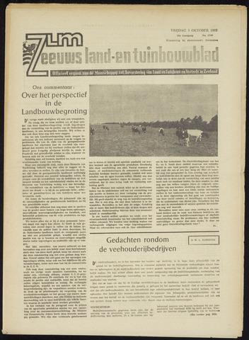 Zeeuwsch landbouwblad ... ZLM land- en tuinbouwblad 1965-10-01