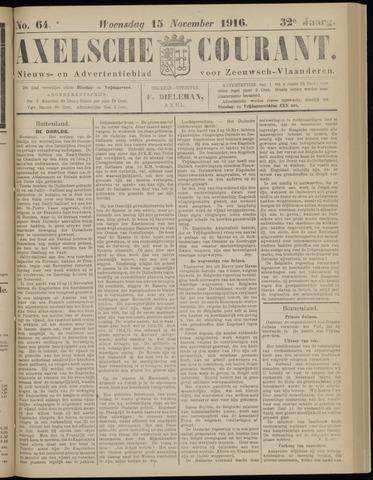 Axelsche Courant 1916-11-15