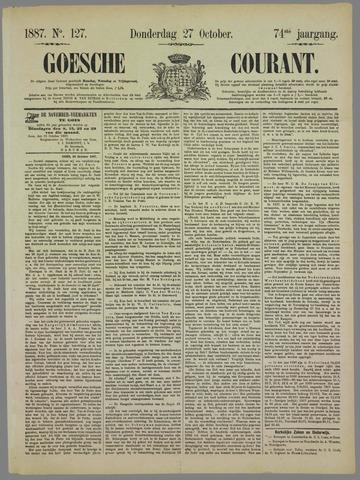Goessche Courant 1887-10-27