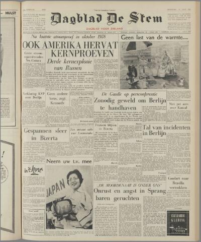 de Stem 1961-09-06