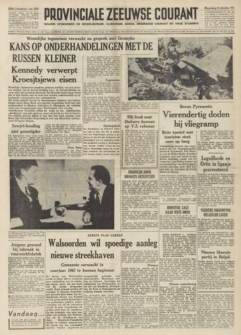 Provinciale Zeeuwse Courant 1961-10-09