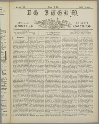 De Zeeuw. Christelijk-historisch nieuwsblad voor Zeeland 1898-07-12