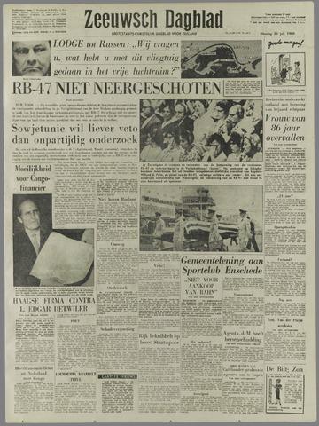 Zeeuwsch Dagblad 1960-07-26
