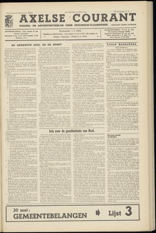 Axelsche Courant 1962-05-12