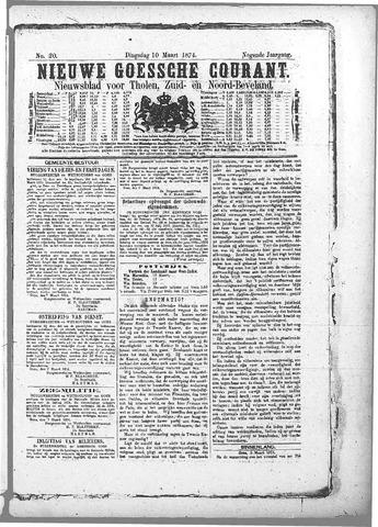 Nieuwe Goessche Courant 1874-03-10
