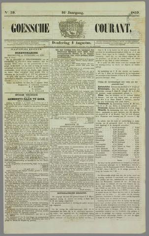 Goessche Courant 1859-08-04