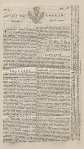 Middelburgsche Courant 1762-01-16