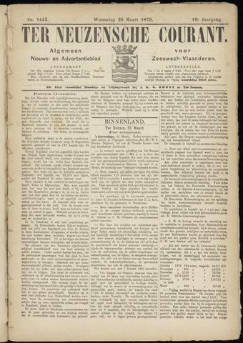 Ter Neuzensche Courant. Algemeen Nieuws- en Advertentieblad voor Zeeuwsch-Vlaanderen / Neuzensche Courant ... (idem) / (Algemeen) nieuws en advertentieblad voor Zeeuwsch-Vlaanderen 1879-03-26
