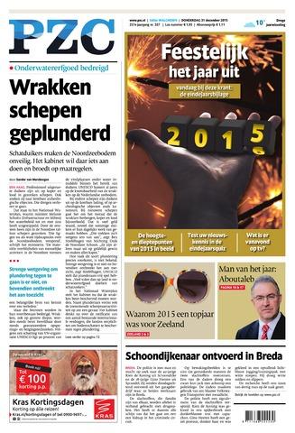 Provinciale Zeeuwse Courant 2015-12-31