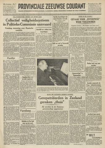 Provinciale Zeeuwse Courant 1952-01-09