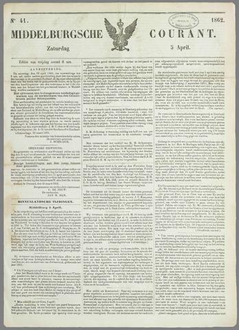 Middelburgsche Courant 1862-04-05