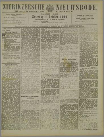 Zierikzeesche Nieuwsbode 1904-10-01